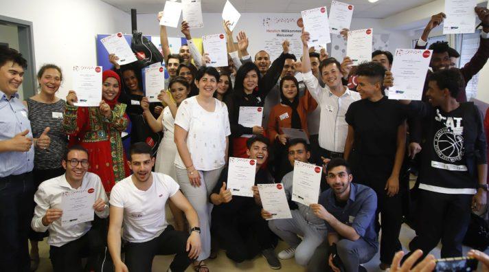 3. Zertifikatsverleihung von Peer MenotInnen, die im Rahmen vom Projekt Core ausgezeichnet wurden.