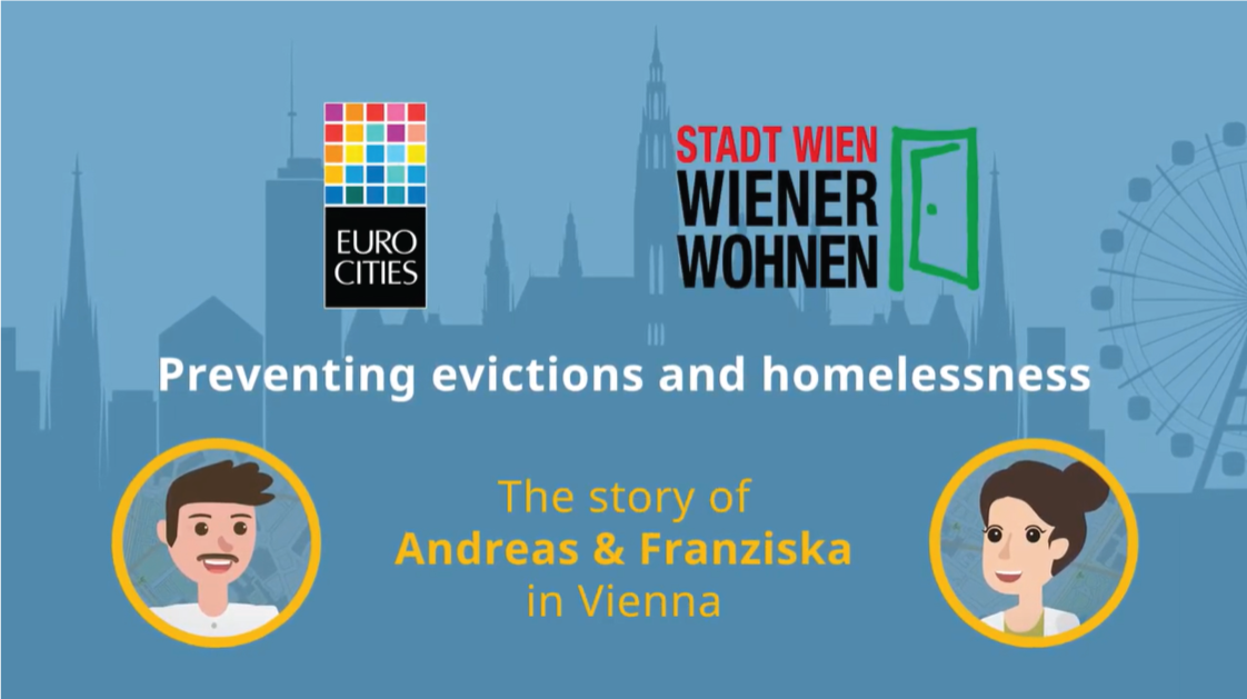 Preventing evictions and homelessness - The story of Andreas & Franziska in Vienna
